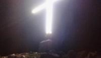 Si riaccende la Croce del Monte Piscacca