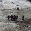 Tragedia sfiorata a Laceno: si lancia con lo slittino su pista senza neve