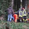 Laceno, operaio ferito durante lavori di disboscamento