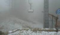Prima neve a Laceno, la stagione invernale è alle porte