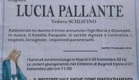 Lucia Pallante, vedova Schiavino (Napoli)