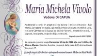 Maria Michela Vivolo, vedova Di Capua