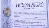 Teresa Nigro, vedova Gatta (Ponsacco – Pisa)