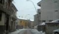 Nevicata a Bagnoli del 20 marzo 2009 – Via Gramsci