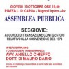 """""""Insieme per Bagnoli"""": Assemblea pubblica in Piazza Di Capua"""