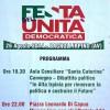 """A Bagnoli la """"Festa dell'Unità Democratica"""""""