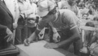Rocco Gatta, il ciclista bagnolese che partecipò al Giro del 1976