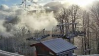 Prima neve della stagione: l'altopiano Laceno ricoperto di bianco