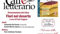 """La presentazione del libro di Paolo Saggese """"Fiori nel deserto"""""""