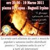 """Il 19 marzo i fuochi itineranti di San Giuseppe: """"La luna ed i falò″"""