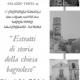 """11ª Conferenza Tematica 2008 – """"Estratti di storia della chiesa bagnolese"""""""