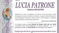 Lucia Patrone, vedova Nicastro