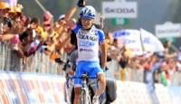 Giro d'Italia 2015: traguardo volante a Bagnoli Irpino, GPM a Laceno