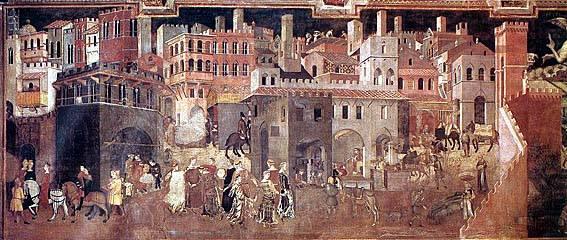 Ambrogio-Lrorenzetto-allegoria-buon-governo-2