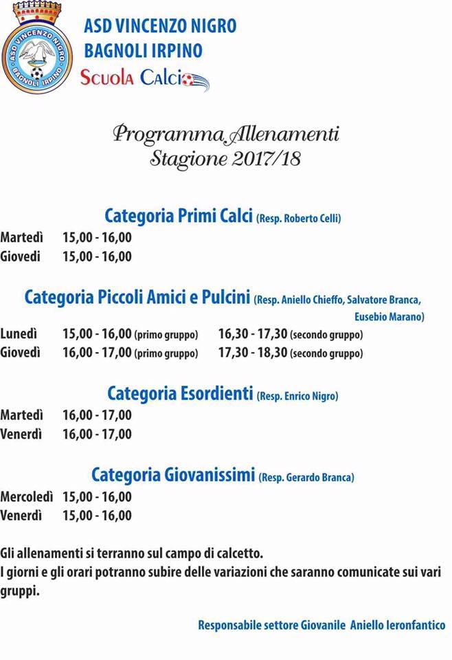 Asd-V-Nigro-Scuola-Calcio-Programma-attivita-2017-2018
