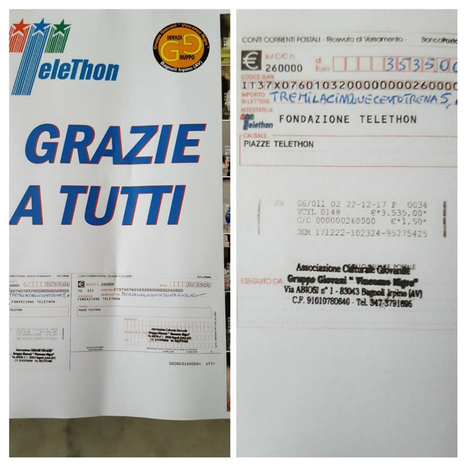 BAgnoli-Telethon-2017-Raccolti-fondi
