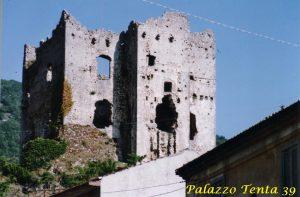 Bagnoli-Irpino-Castello-Cavaniglia-foto-d'epoca