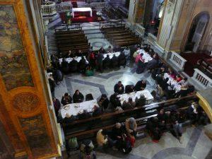 basilica-sant-eustachio-roma-mensa-don-pietro-sicurani