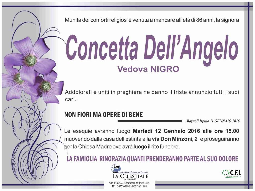Concetta-DellAngelo-vedova-Nigro