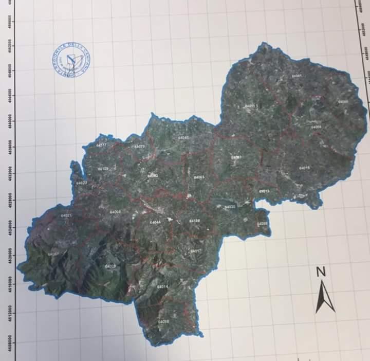 Perimetro Distretto Turistico Alta Irpinia