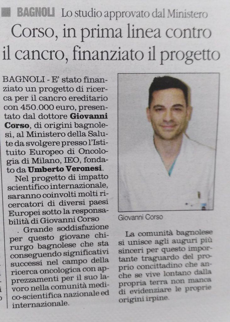 Finanziato-progetto-cancro-Giovanni-Corso-Il-Quotidiano-16.12.2017