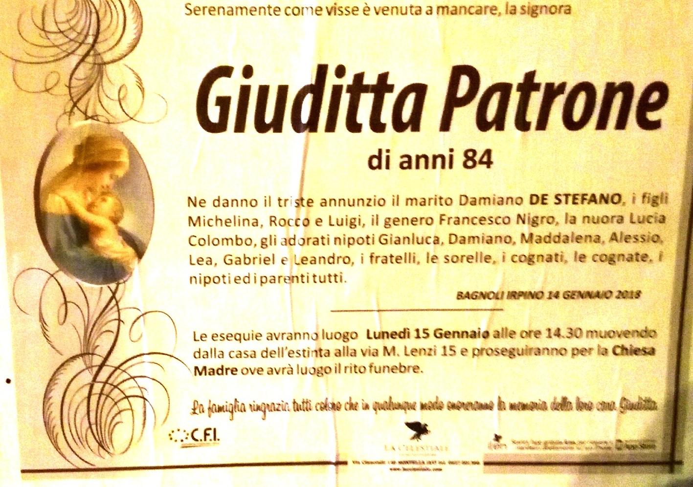 Giudittta-Patrone