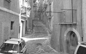 Via Carpine, dove abitava Grazia Cione