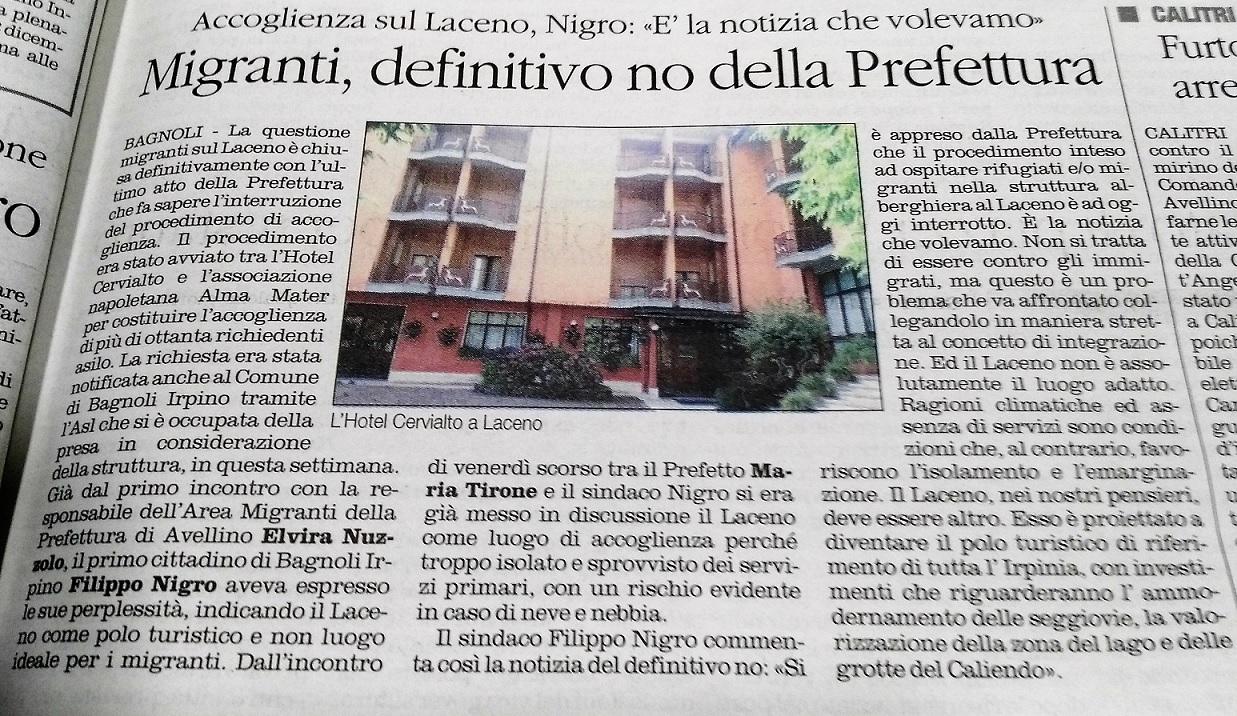 Il-Quotidiano-30.11.2017-Migranti-No-Prefettura