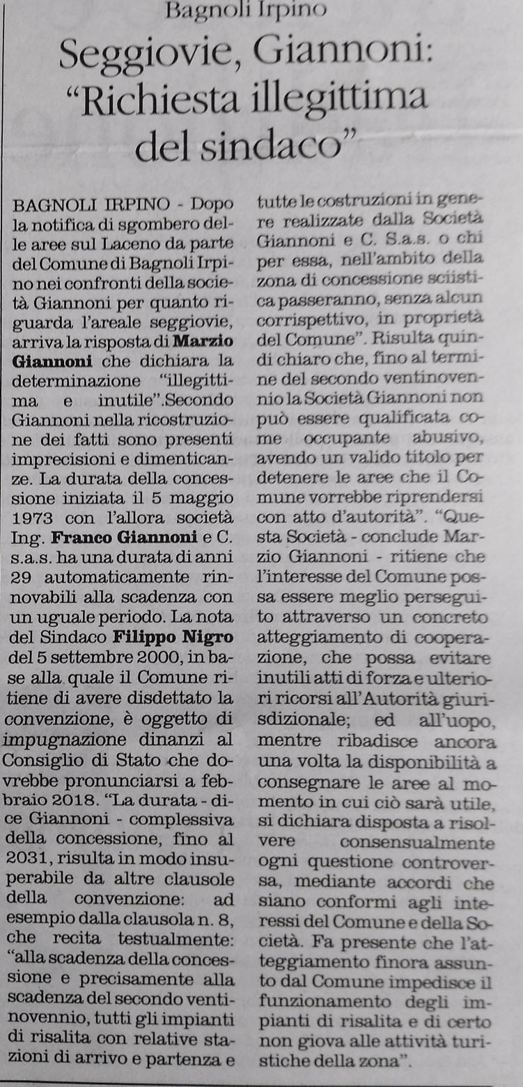 Il-Quotiidiano.del-Sud-01.12.2017-GIannoni-Richiesta-SIndaco-Illegittima