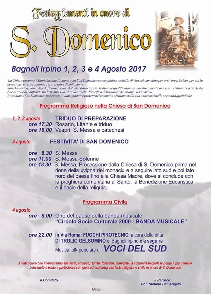 Manifesto-Festeggiamenti-in-onore-di-San-Dmenico-2017