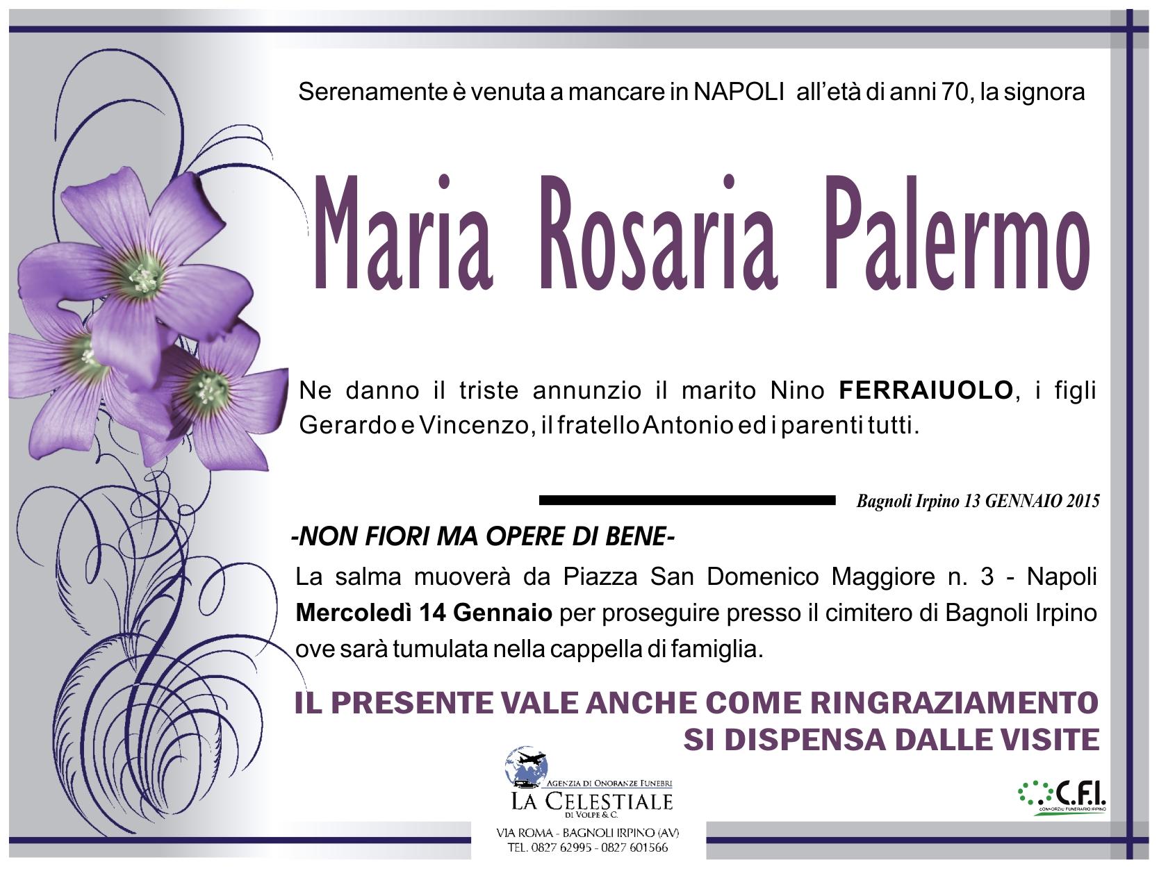 maria rosaria palermo (napoli)   associazione culturale - palazzo ... - Fiori Bagnoli Irpino