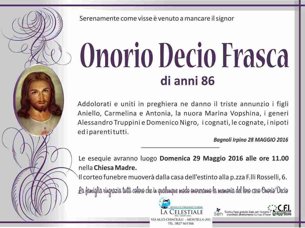 Onorio-Decio-Frasca