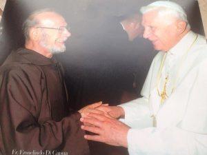 Padre-Ermelindo-e-Papa-Ratzinger