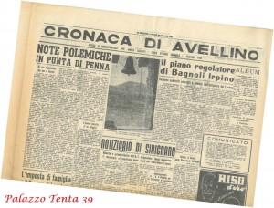 Piano-regolatore-Bagnoli-Irpino-il-Mattino-28.12.1953
