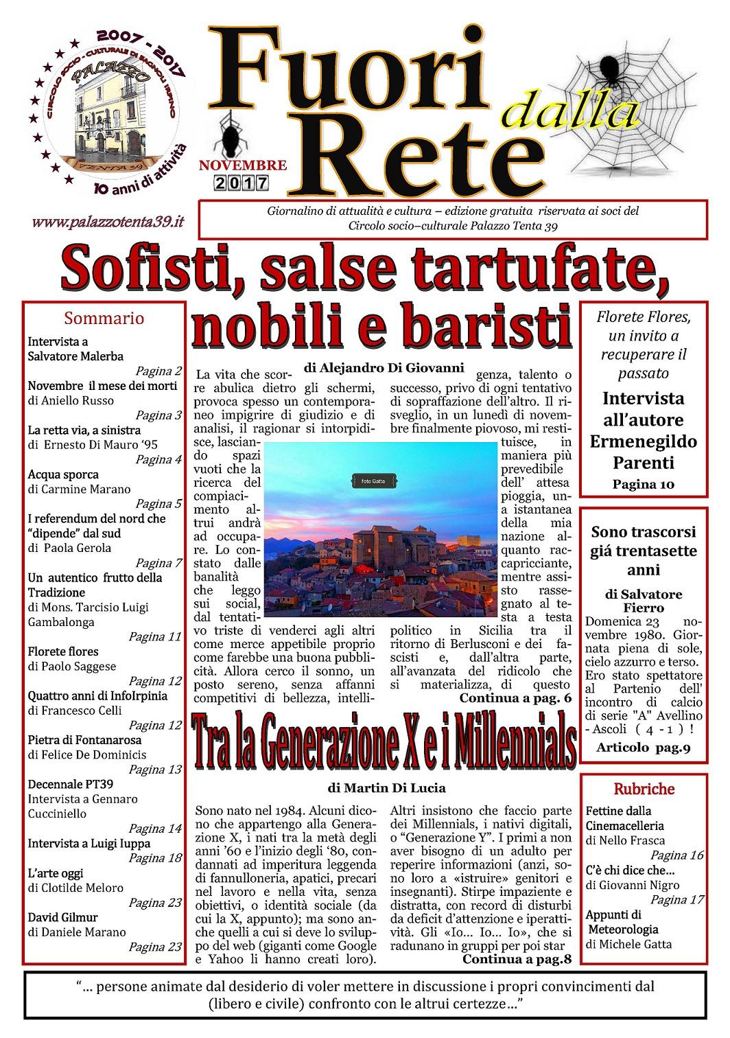 Prima-Pagina-Fuori-dalla-Rete-Novembre-2017
