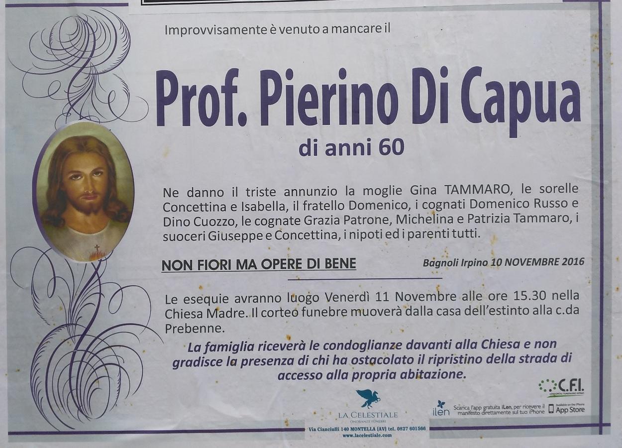 prof. pierino di capua   associazione culturale - palazzo tenta 39 - Fiori Bagnoli Irpino
