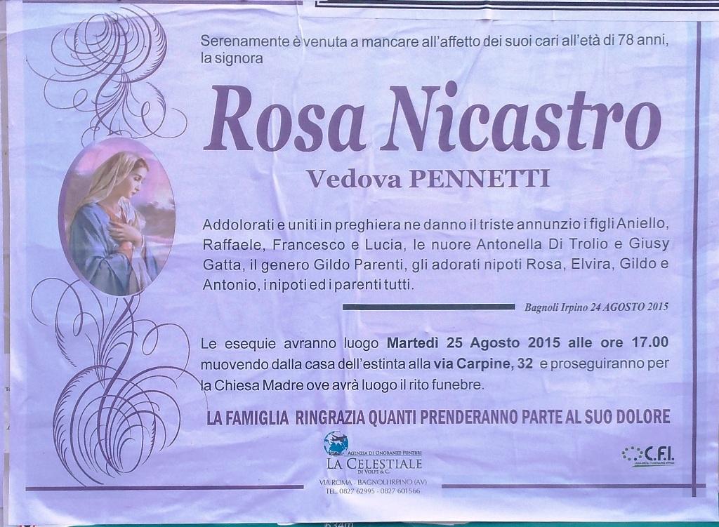 Rosa-Nicastro-vedova-Pennetti