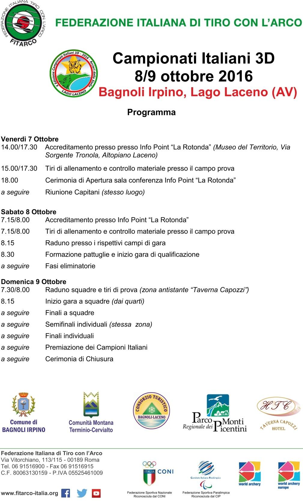 locandina-programma-arcieri-laceno-2016