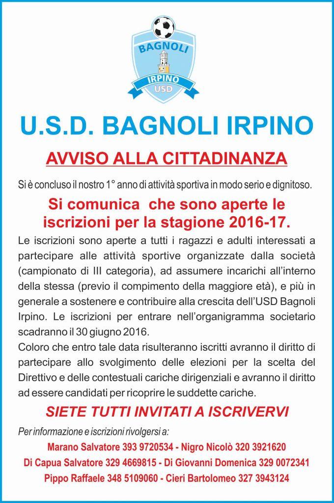 usd-bagnoli-avviso-iscrizione-2016-2017