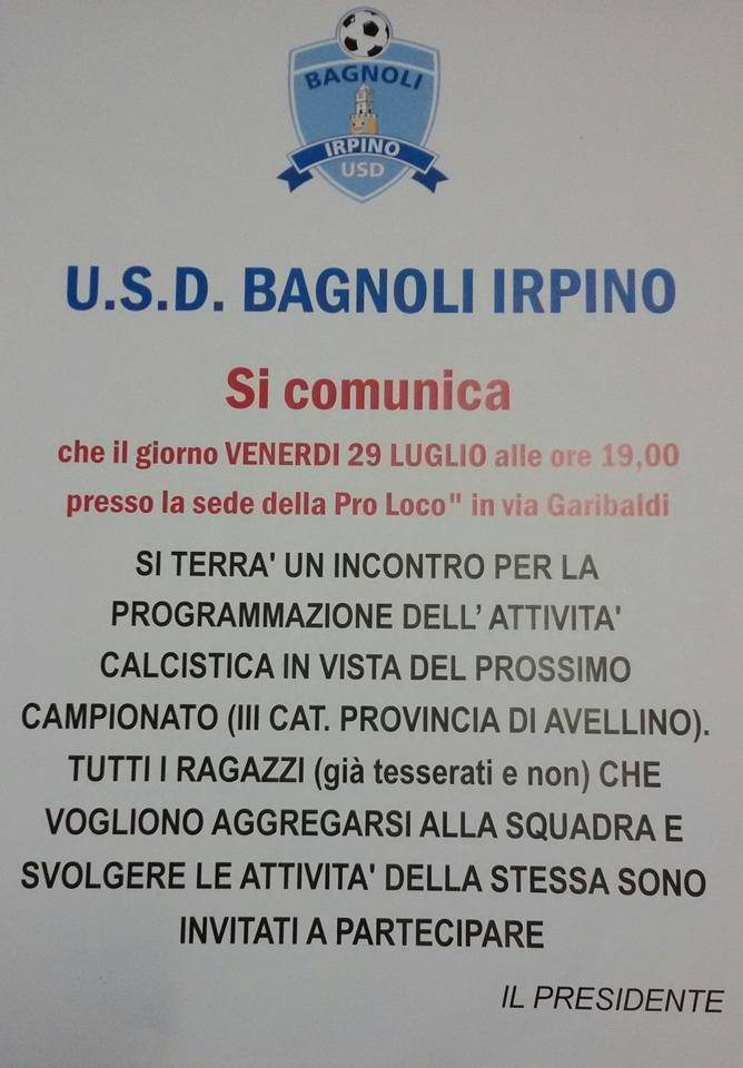 usd-bagnoli-counicato-luglio-2016